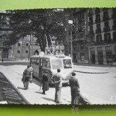 Postales: BILBAO Nº 36. ARENAL. EL TROLEBUS . L. ROISIN. POSTAL SIN CIRCULAR. Lote 25905172