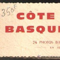 Postales: MAGNÍFICAS 24 VISTAS DE LA COSTA VASCA. Lote 26236225