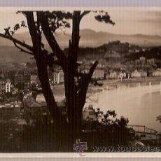 Postales: ANTIGUA POSTAL 84 SAN SEBASTIAN VISTA DESDE EL MONTE URGULL FOTO GALARZA. Lote 26373942