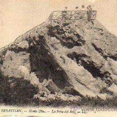 Postales: MUY BUENA POSTAL DE SAN SEBASTIAN - MONTE ULIA - LA PEÑA DEL REY Nº 176 DE LL.. Lote 26523147