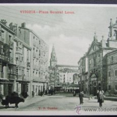 Postales: VITORIA – PLAZA DEL GENERAL LOMA – V.B. CUMBO. Lote 26688655