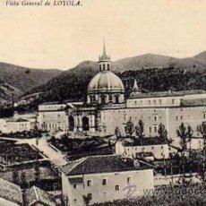 Postales: GUIPUZCOA. LOYOLA. VISTA GENERAL. NO FIGURA EDITOR.. Lote 26815106