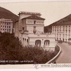 Postales: ANTIGUA POSTAL 8 BALNEARIO DE CESTONA LOS HOTELES. Lote 26821318