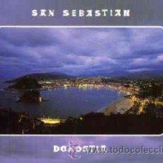 Postales: SAN SEBASTIAN - VISTA GENERAL DESDE IGUELDO. ILUMINADA. Lote 26892527