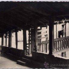 Postales: ORIO (GUIPUZCOA).- PORTICO DE LA IGLESIA PARROQUIAL. Lote 27141418