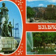 Postales: BILBAO Nº 2595 ESCRITA CIRCULADA SELLO COLECCIÓN PERLA . Lote 27379957
