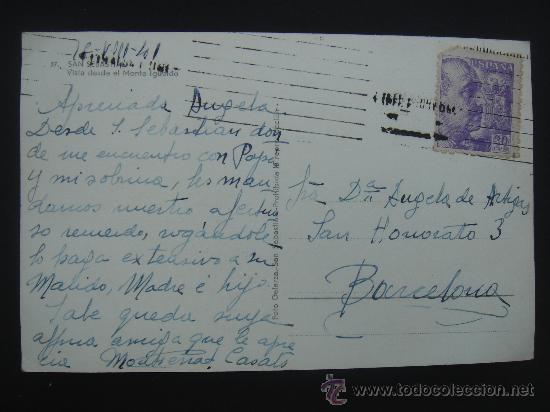 Postales: DORSO DE LA POSTAL - Foto 2 - 27432967