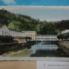 Postales: BALNEARIO DE CESTONA. ANTIGUA POSTAL CIRCULADA EN 1959 COLOREADA A MANO. Lote 27677446