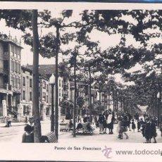 Postales: TOLOSA (GUIPUZCOA).- PASEO DE SAN FRANCISCO. Lote 27729782