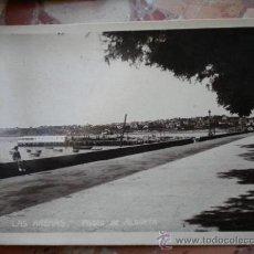Postales: POSTAL LAS ARENAS GUECHO PASEO DE ALGORTA VIZCAYA PAIS VASCO. Lote 27738889