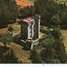 Postales: POSTAL DE VIZCAYA , ARTEAGA, CASTILLO VISTA AEREA Nº 103. Lote 27762442
