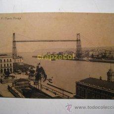 Postales: PORTUGALETE: PUENTE VIZCAYA. Lote 27786820