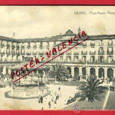 Postales: BILBAO, VIZCAYA, PLAZA NUEVA, MERCADO AGRICOLA, P63187. Lote 27854988