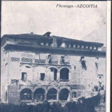 Postales: AZCOITIA (GUIPUZCOA).- FLOREAGA. Lote 28148885