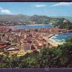 Postales: SAN SEBASTIAN - VISTA GENERAL - CIRCULADA EN 1966. Lote 28527399