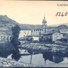 Postales: ELGÓIBAR (GUIPUZCOA).- VISTA PARCIAL. Lote 28516224