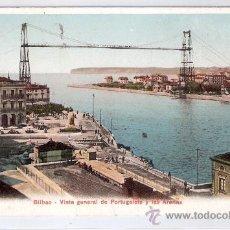 Postales: BILBAO - VISTA GENERAL DE PORTUGALETE Y LAS ARENAS-47431- CIRCULADA- (8036). Lote 28763494
