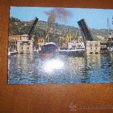 Postales: BILBAO Nº 75 - PUENTE BASCULANTE DEL GENERALISIMO.. Lote 28626436