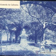 Postales: DEVA (GUIPUZCOA).- ALAMEDA DE CALBETÓN. Lote 28645248