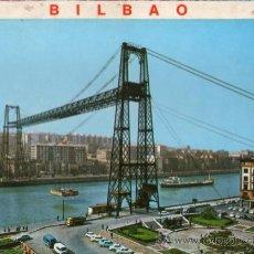 Postales: LIBRITO DE 10 POSTALES DE BILBAO AÑOS 70 . Lote 28670421
