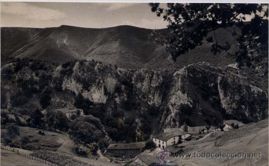 CASERÍO BARRIO DE ARÁNZAZU (GUIPUZCOA).- VISTA PARCIAL (Postales - España - País Vasco Moderna (desde 1940))