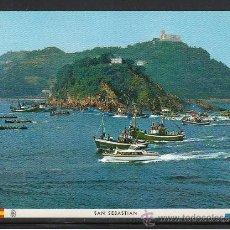 Postales: 65 - SAN SEBASTIAN. REGATA DE TRAINERAS. Lote 28946762