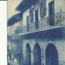 Postales: FUENTERRABIA GUIPUZCOA CASA CONSISTORIAL ESCRITA. Lote 29112378