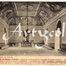 Postkarten - PRECIOSA POSTAL - GRAN BALNEARIO DE ZUAZO (ALAVA) - GRAN SALON DE FIESTAS - 29273117