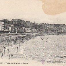 Postales: SAN SEBASTIÁN, VISTA GENERAL DE LA PLAYA, EDITOR: MAYOR HERMANOS Nº 39. Lote 29424853