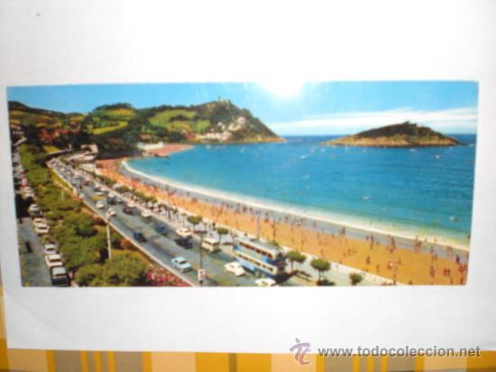FOURNIER - POSTAL SAN SEBASTIAN (Postales - España - País Vasco Moderna (desde 1940))
