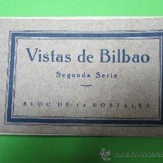 Postkarten - 14 POSTALES VISTAS DE BILBAO , segunda serie , completa - 29681142