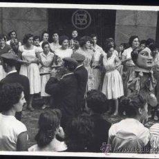 Postales: ELGOIBAR (GUIPUZCOA).- FIESTAS 1958- FOTOGRAFÍA. Lote 29683846