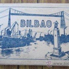 Postales: MINI ÁLBUM ACORDEON 10 POSTALES BILBAO .. Nº 1 EDICIONES GARCÍA GARRABELIA. Lote 29688417
