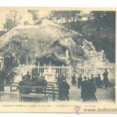 Postales: ELORRIO VIZCAYA - CONVENTO DE NUESTRA SEÑORA DE LOURDES .. ESCRITA 1912. Lote 29817568