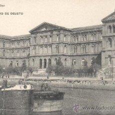 Postales: POSTAL DE BILBAO - UNIVERSIDAD DE DEUSTO EDICIÓN G.L.. Lote 30060386