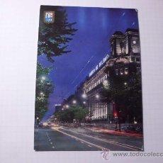 Postales: POSTAL DE BILBAO, GRAN VÍA VISTA NOCTURNA. S/C. POSTAL 525. Lote 30033675