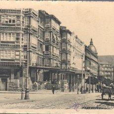 Postales: POSTAL DE BILBAO CALLE HURTADO DE AMEZAGA- DE CASTAÑEIRA Y ALVAREZ DE MADRID. Lote 30501763