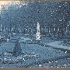 Postales: POSTAL DE BILBAO JARDINES DEL ARENAL - DE ROISINI Nº 76 TONALIDAD AZUL FUERTE. Lote 30501767