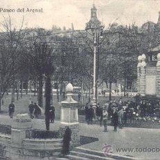 Postales: POSTAL DE BILBAO PASEO DEL ARENAL DE A H E. Lote 30501820