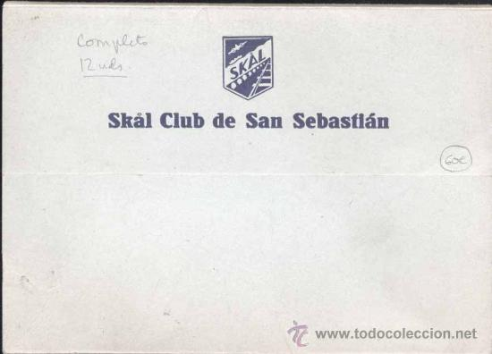 Postales: ALBUM COMPLETO DE 12 POSTALES DE DEPORTES VASCOS - Foto 2 - 30159909