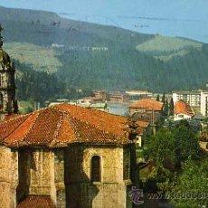 Postales: VERGARA Nº 96 PARROQUIA DE SANTA MARINA EXCLUSIVAS SAN CAYETANO ESCRITA CIRCULADA SELLO. Lote 30471664