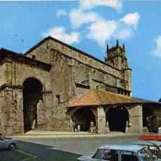 Postales: DURANGO 6601 IGLESIA DE SANTA MARÍA ED. BEASCOA ESCRITA CIRCULADA SELLO. Lote 30498165