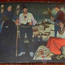Postales: ANTIGUA POSTAL EDITADA POR LA ASOCIACION DE ARTISTAS VASCOS, BILBAO EN 1916, CUADRO DE V. DE ZUBIAUR. Lote 30568652