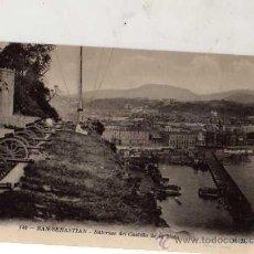 Postales: SAN SEBASTIÁN Nº 144 BATERÍAS DEL CASTILLO DE LA MOTA M. D. SIN CIRCULAR . Lote 30657442