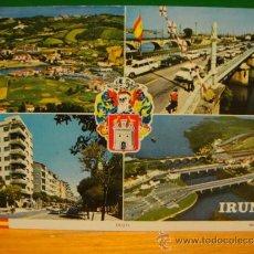 Postales: IRUN POSTAL SIN CIRCULAR EDI. FOURNIER. Lote 30681269