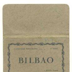 Postales: CARPETA – ESTUCHE .. 10 POSTALES DE BILBAO. Lote 30684260