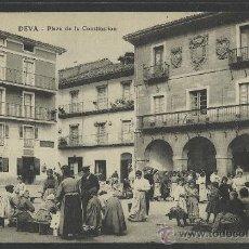 Postales: DEVA - PLAZA DE LA CONSTITUCION - MERCADO - (9253). Lote 30693762