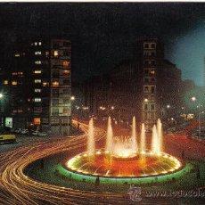 Postales: POSTAL DE BILBAO , PLAZA ZABALBURU Y FUENTE MONUMENTAL - SIN CIRCULAR. Lote 30791647