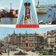 Postales: PAIS VASCO. VIZCAYA. BILBAO. VARIAS FOTOGRAFIAS. BELLEZAS DE LA CIUDAD.. Lote 30911456
