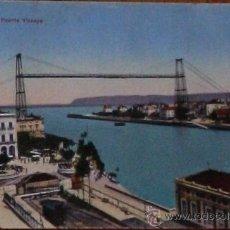 Postales: POSTAL DEL PUENTE DE VIZCAYA - ESTACION DEL FERROCARRIL PORTUGALETE - GETXO - EUSKADI - PAIS VASCO. Lote 30943704